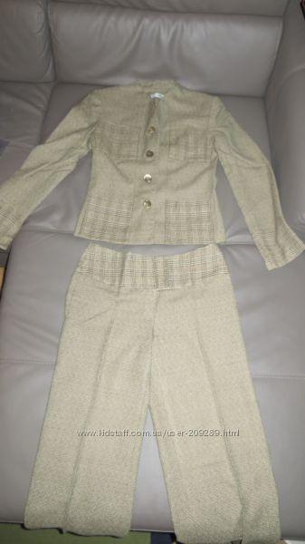 Твидовый брючный костюм Elni, XS-S