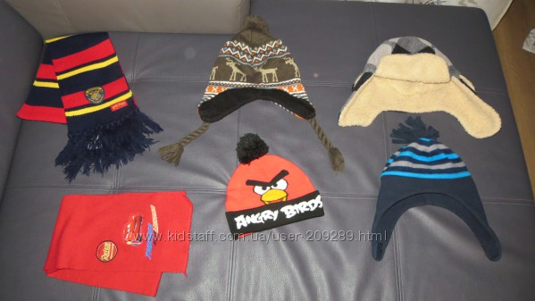 Шапки, варежки, шарфы, рукавицы на мальчика