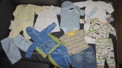 Одежда на мальчика 0-12 мес, Картерс, Некст и др