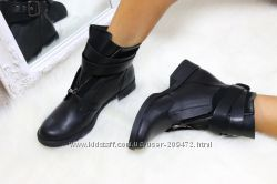 Кожаные демисезонные и зимние ботинки в стиле Balmain