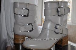 Ботинки из кожи Boutique 9 стелька 26, 5 см