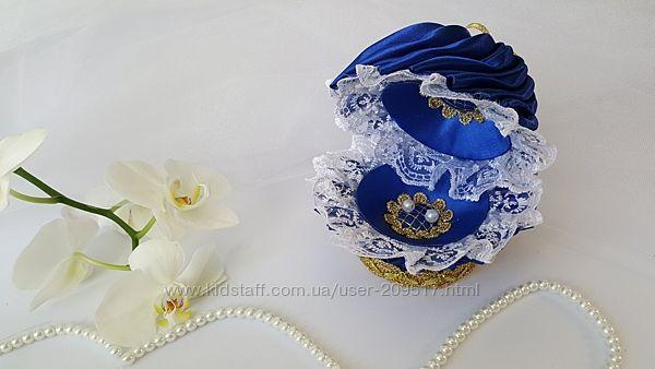 Свадебная шкатулочка для колец