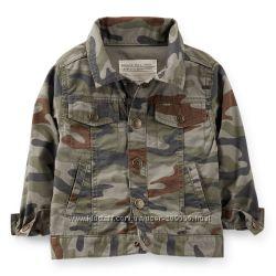 Пиджак легкий камуфляжного цвета CARTERS