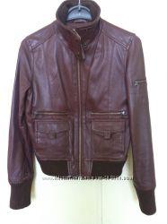 Курточка Mango кожа