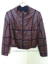 Курточки кожзам