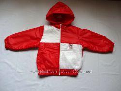Новая яркая деми куртка Германия р-р 98