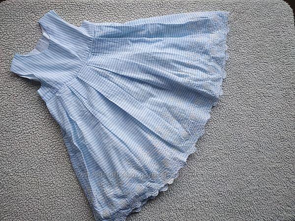 Новое Mothercare нежное и нарядное платье на 12/18м