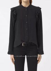 Блузка allsaints edin shirt оригинал шелк