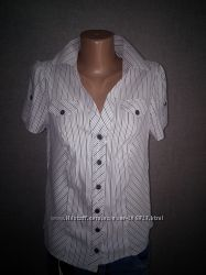 2 рубашки, блузки в школу в офис. Распродажа.