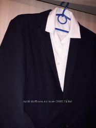 Стильный пиджак на школу, фирмы Gap. Рубашка в подарок.