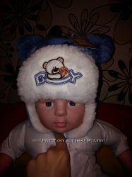 Продам новые зимние шапки на мальчика.