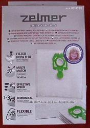 zelmer мешки для пылесоса зеленый