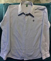 Рубашка на мальчишку 8-9 лет р. 140 см
