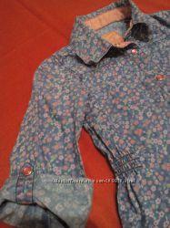 джинсовая летняя одежда на девочку 3-5 лет