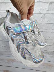 Казкові кросівки сітка легенькі для дівчаток р.26-31