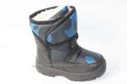 Дутики р. 13, 14, 15см сапоги зимние, теплые дутики, ботинки непромокаемые