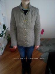 Куртка Marks& Spenser оливкового цвета стеганая