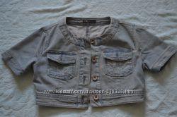короткая джинсовка