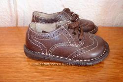 Кожаные туфли 21, 22, размеры от  Chicco