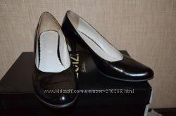 Черные туфли размер 40