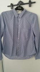 Рубашка 100 мягкий хлопок размер евро 42 H&M бренд