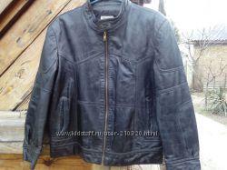 Куртка кожаная 46 разм