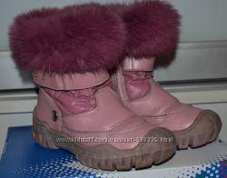 Зимние сапожки Bartek на девочку, размер 26