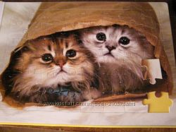 Книжка-пазл о кошках