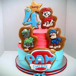 Детский торт без мастики. Торт для детей