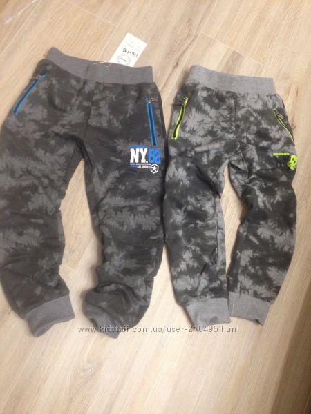спортивные штаны на весну 116, 122, 128, 134, 140, 146