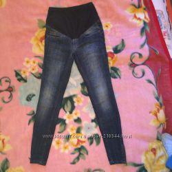 Стильные джинсы H&M скини для животика