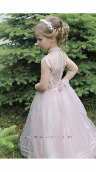 Дизайнерское платье на выпускной