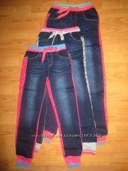 Комбинированые джинсы на девочек Grace Венгрия