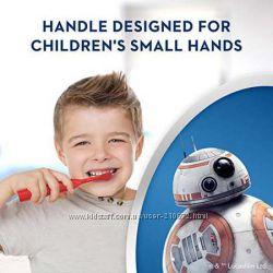 Детские зубные электрощетки Oral-B и Colgate с любимыми мульт - героями