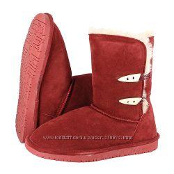 Обувь из овчины BEARPAW. Доставка из США.