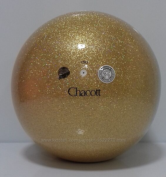 Мяч Чакот Chacott Jewelry Gold 18 см