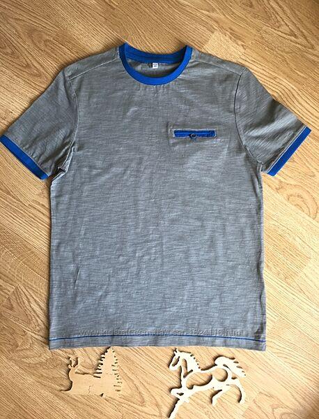 Красивая фирменная футболка на мальчика 11-12 лет, M&S.