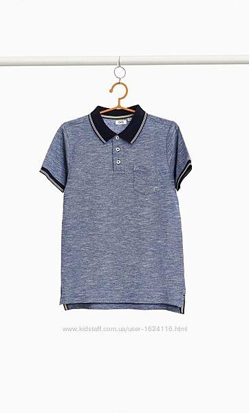 Чудова красива футболка поло на хлопчика 11-12 років OVS.