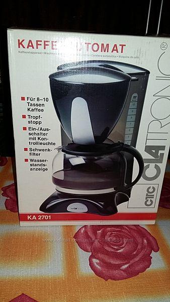 Кофеварка Clatronic KA 2701 Германия новейшая