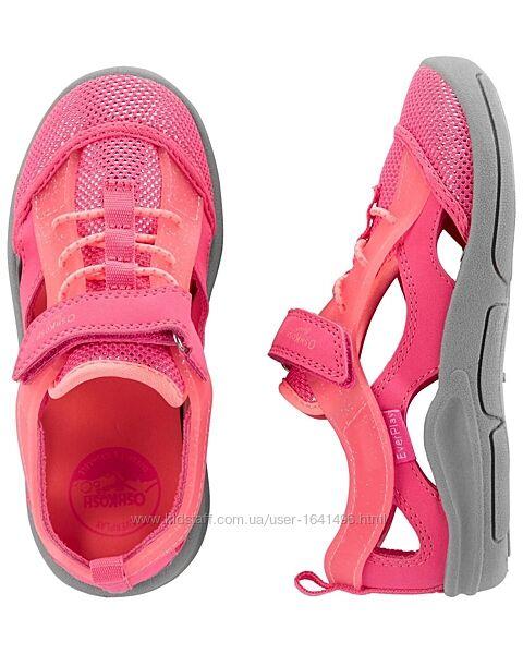 Спортивные сандалии для девочки oshkoshсандалии лето
