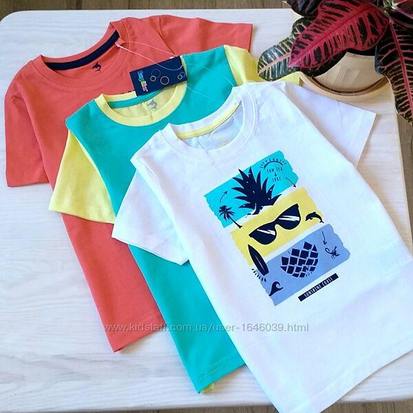 Набор футболок на мальчика летняя футболка для мальчиков 2-4 года
