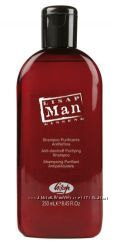 Шампунь против перхоти для мужчин Lisap Man Anti-dandruff purifying shampoo