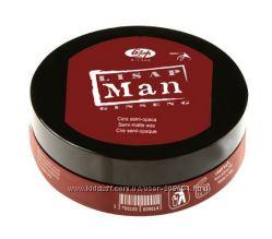 Полуматовый моделирующий воск для мужчин Lisap Man Semi-matte wax