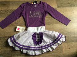 Комплект девочке 18-24 мес. из кофточки Girl2Girl и юбочки Star