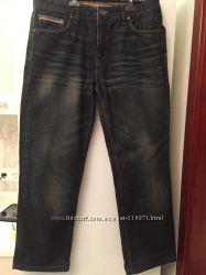 Эффектные плотные мужские джинсы Colin&acutes w34