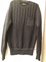 Практичный свитер с косами Springfield
