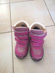 Осенние ортопедические сапоги на девочку