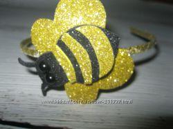 Обруч-бджілка , ободок -пчелка