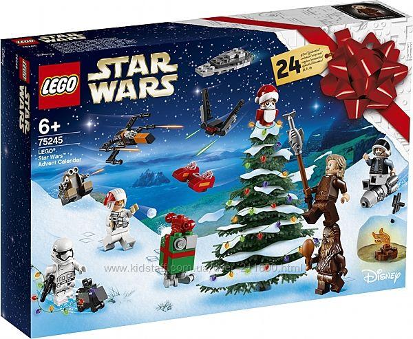 Новогодний адвент календарь Лего 75245 LEGO Star Wars