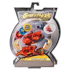Screechers Wild L2 Spikestrip Стегозавр Машинка-трансформер Дикие Скричер